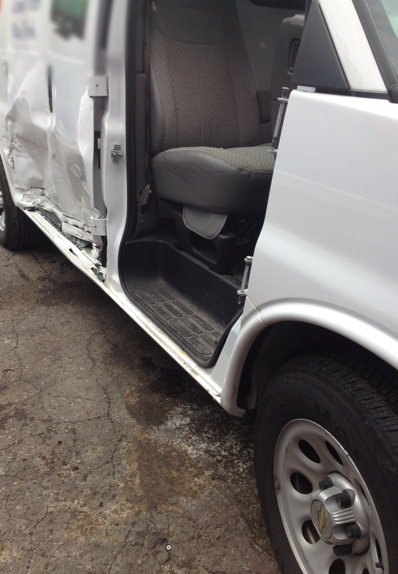 Major Damage-2015 Chev Express
