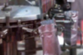 Solid filling machine for industry, Alum