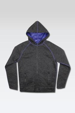 Reversible Knit Jacket