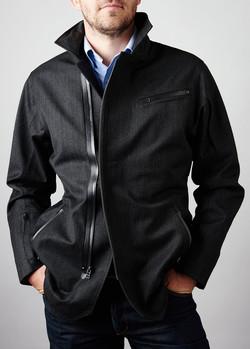 Wool Blend Waterproof Jacket