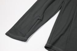 Sleeve hidden zipper pocket