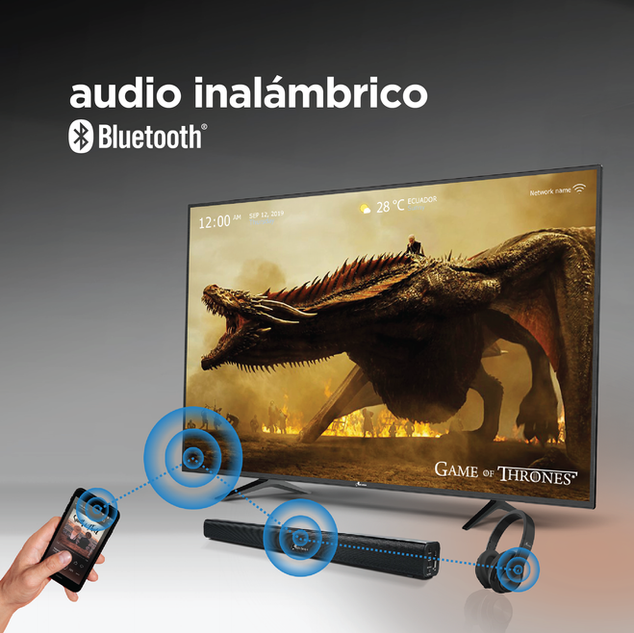 Audio Inalámbrico Bluetooth