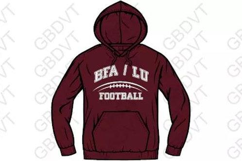 Spiritwear Football Hoodies