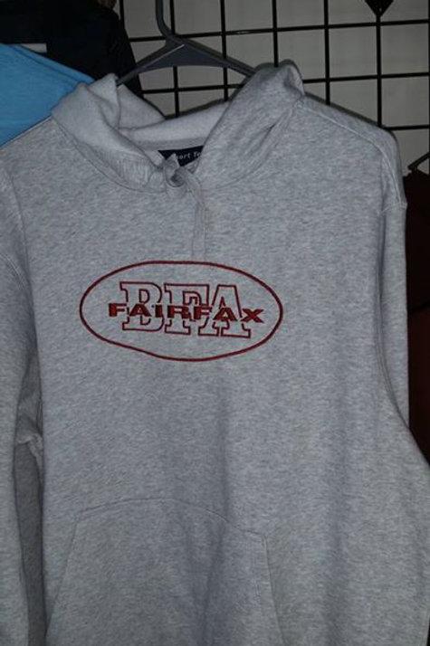 BFA Heavy Weight Hooded Sweatshirt