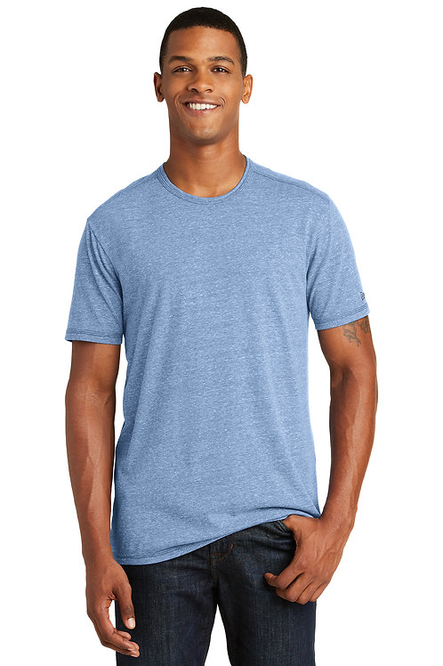 New Era Tri-Blend Performance Crew Tee