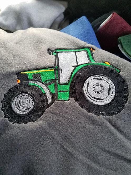 John Deere Tractor Blanket