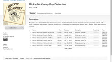 Mickie McKinney Is Now On iTunes!