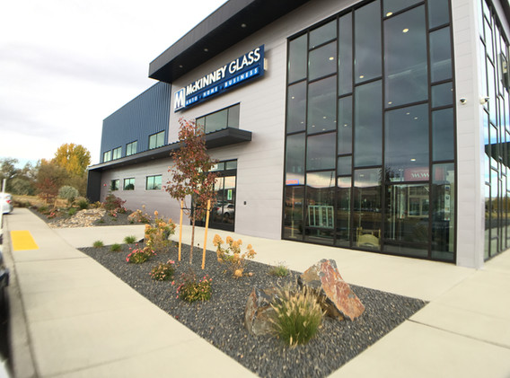 McKinney Glass New Building