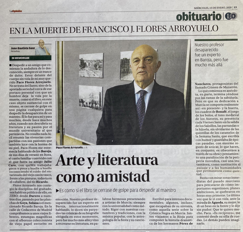 La Opinion FloresArroyuelo2020