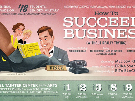MTG's 'How to Succeed...' brings funny business to the Tainter