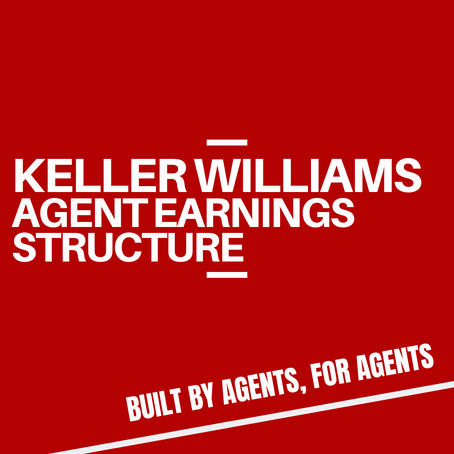 Keller Williams UK - Agent Earnings Structure