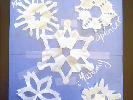 """One-of-a-Kind"" Snowflake Craft"