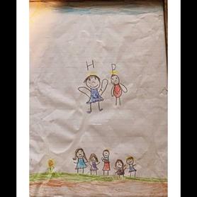 Teagan's Family Portrait