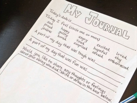 DIY Kids' Grief Journal Pt. 3 + Guided Journals for Purchase