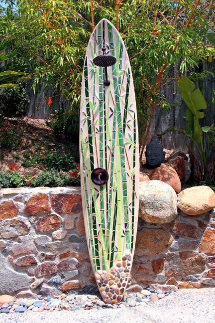 """""""Bamboo Reflections"""" Solana Beach, CA"""