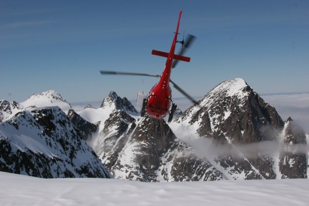 courchevel Heliski
