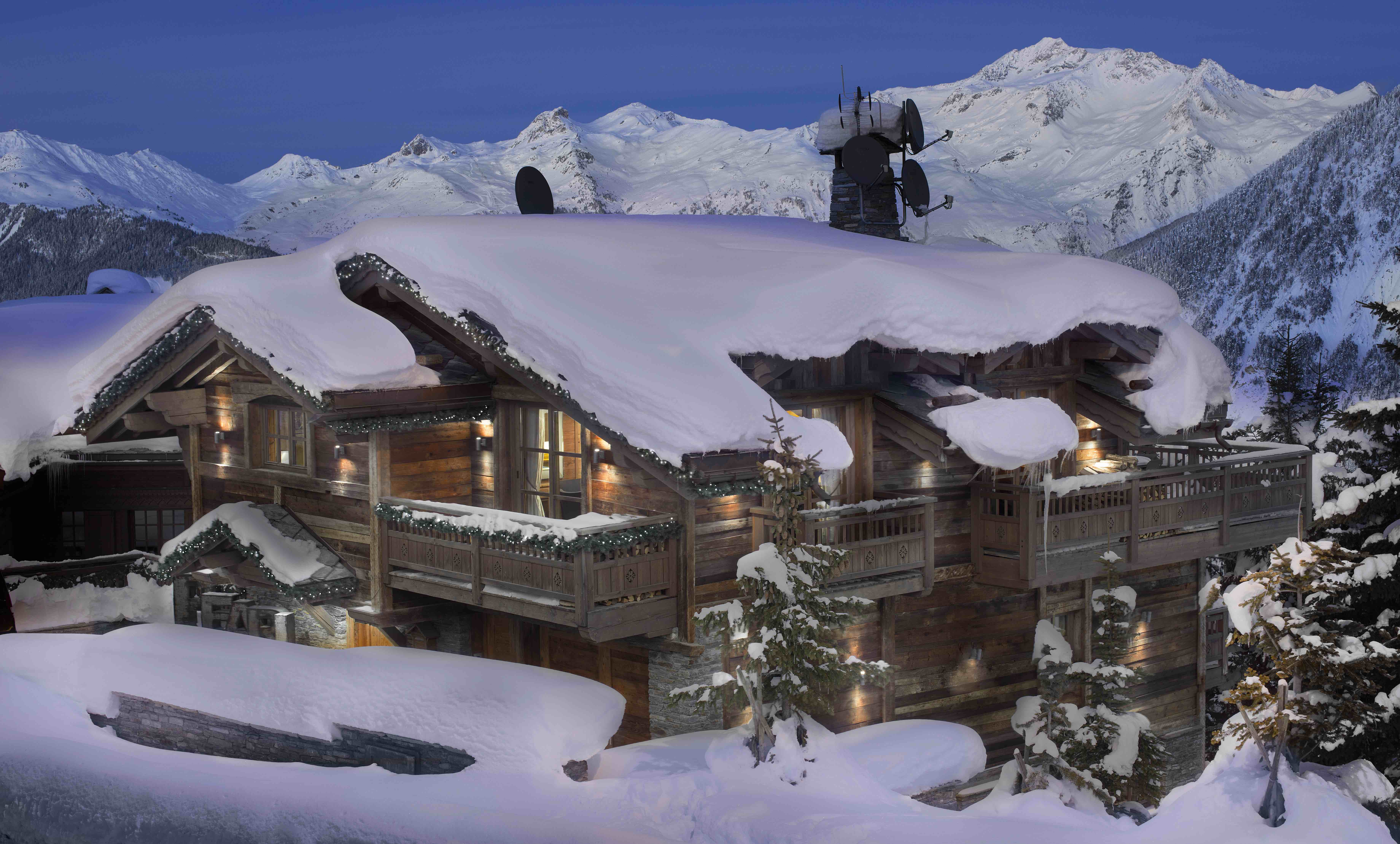 chalet de luxe Courchevel