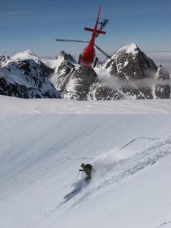 heli-ski courchevel