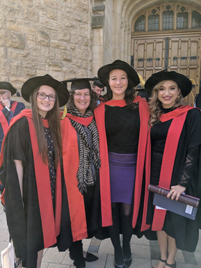 Jasmin's and Kayla's PhD graduation - spring 2019