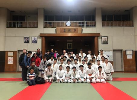 The Dojo Kids Judo Exchange in Japan