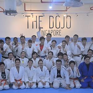 Judo Skills Clinic by Coach Kang Dong Woo