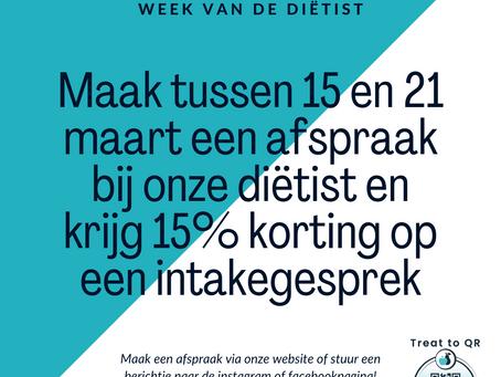 Maart 2021: Week van de Diëtist