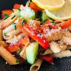 Facebook - Recept - Frisse pastasalade m