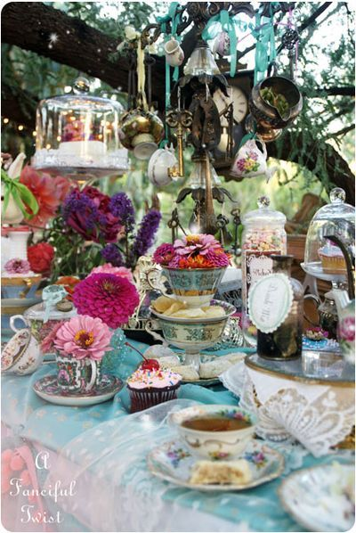 mad hatters tea party - we hear it