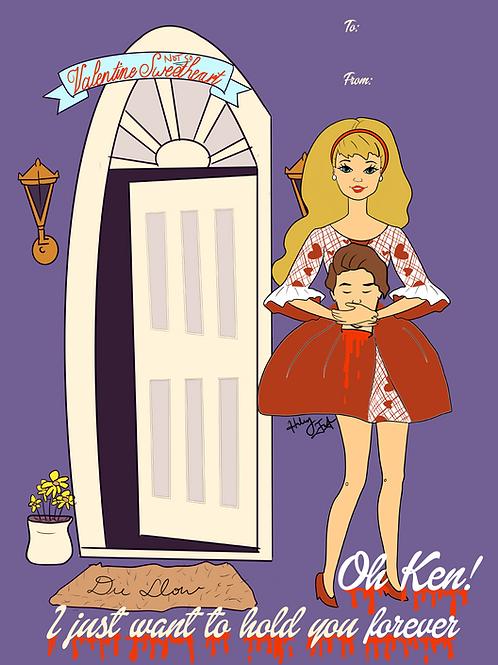 Barbie & Ken Forever Valentine Print