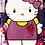 Thumbnail: Bye Kitty Skatedeck