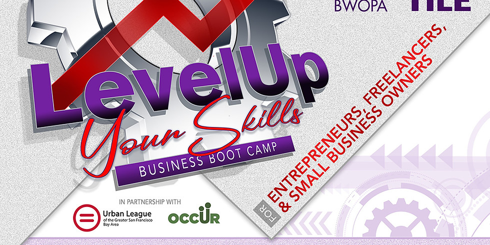 Level Up Your Skills 4-Part Online Boot Camp