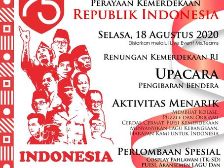 Striving for Shalom: Perayaan Kemerdekaan Republik Indonesia