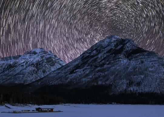 Star Trails in Banff National Park