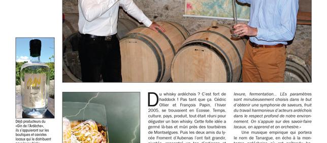 La Tribune - Coup de tonnerre dans le whisky