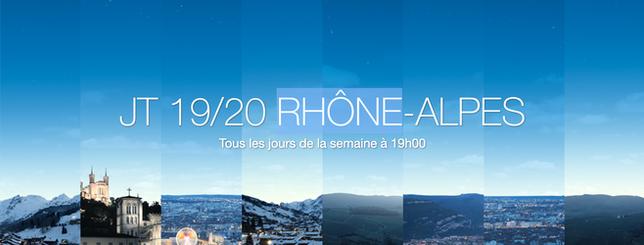 FRANCE 3 Auvergne Rhône-Alpes : JT 19/20