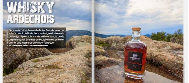 """Magazine """"Émerveillés par l'Ardèche"""":  Le Premier Whisky Ardéchois"""