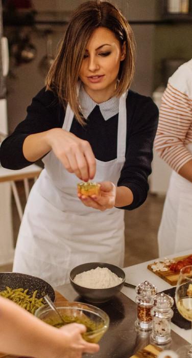Cucina di gruppo