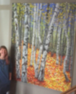 The Woods painting