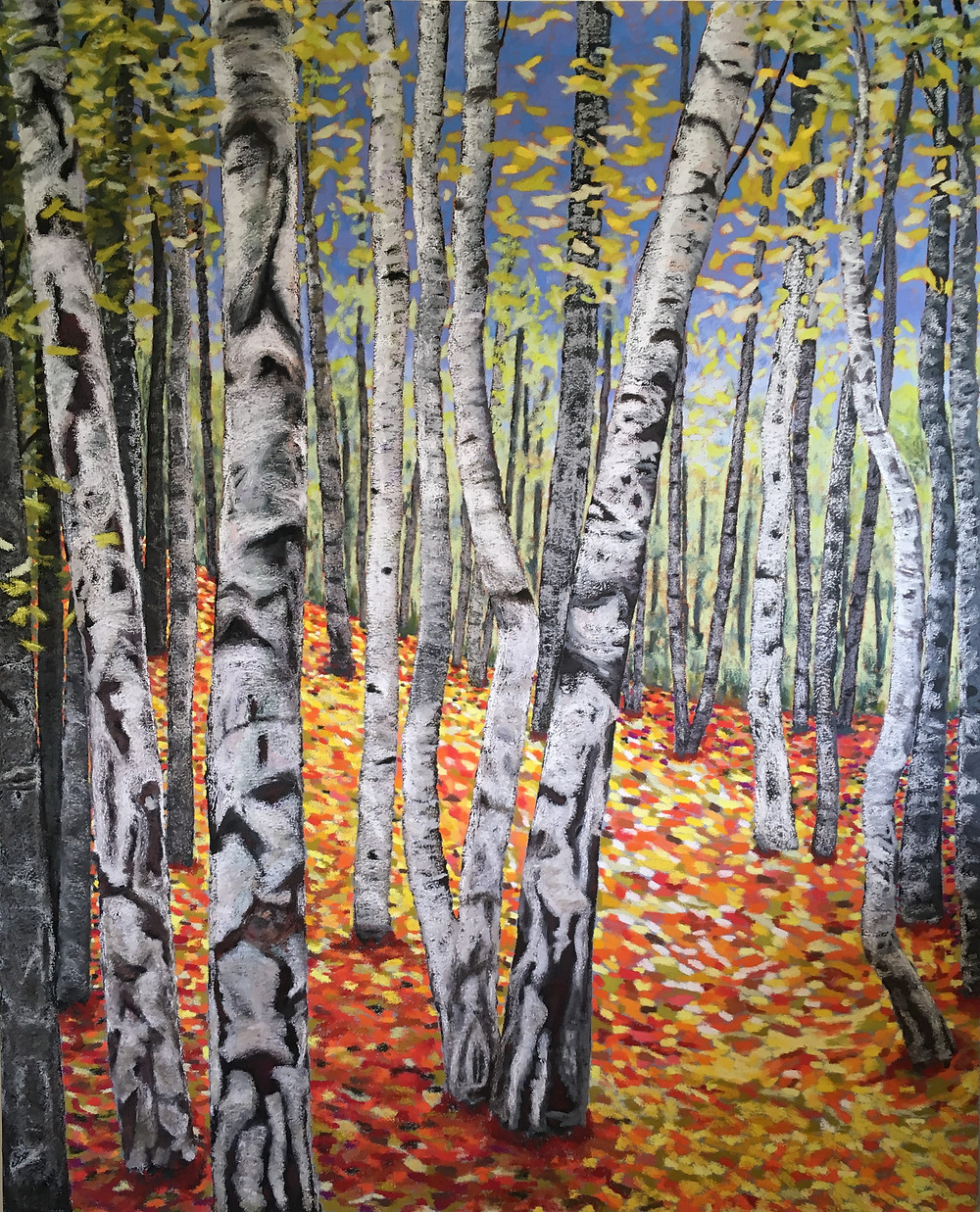 The Woods Painting - Private Commission