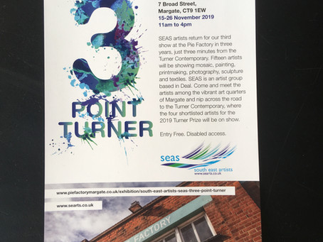 South East Artists (SEAs): Three Point Turner exhibition at the Pie Factory Margate