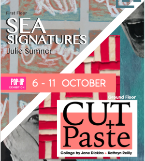 Sea Signatures Exhibition at Linden Hall Studio Gallery, Deal.  October 6th - 11th!
