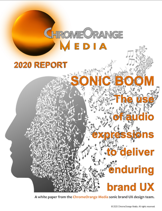 ChromeOrange Media Sonic Branding White