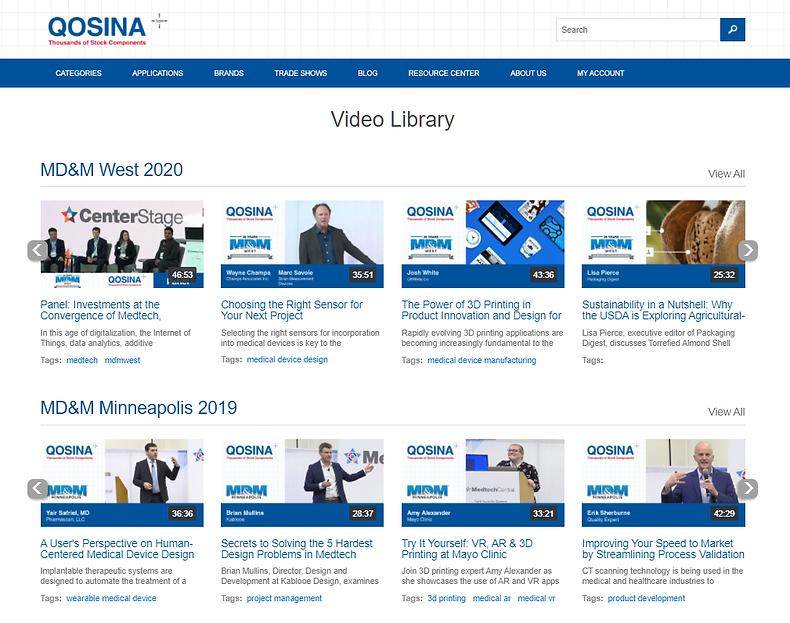 Qosina videos