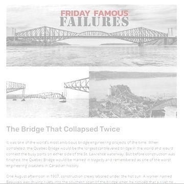 The Bridge that Collapsed Twice