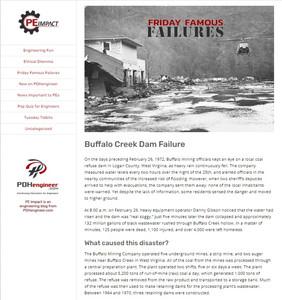 Buffalo Creek Dam Failure