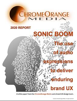 Sonic branding white paper image