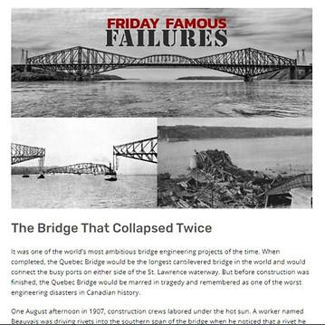 Quebec Bridge Collapse