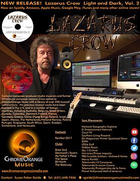 Lazarus Crow Artist One Sheet