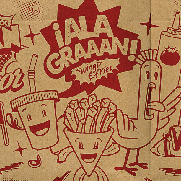 Alagraaan Wings & Fries