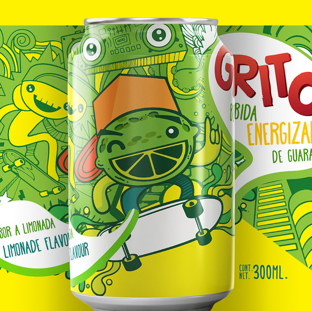 Grito - Energy Drink
